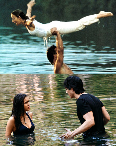 damon and elena baby